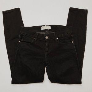 • FREE PEOPLE • black skinny jeans